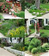 English Cottage Garden Front Yard Landscaping