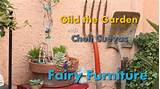Fairy Garden Furniture!!! DIY - YouTube