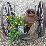 rustic charm country gardens pinterest