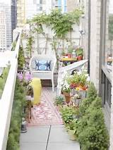 ... Small Patios, Small Balconies, Decor Ideas, Balconies Gardens