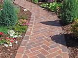 herringbone brick path - my favorite brick layout