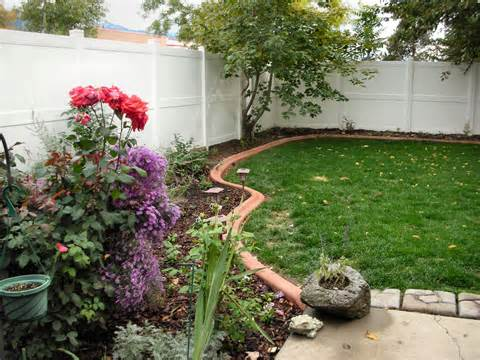brick flower bed border - group picture, image by tag ...