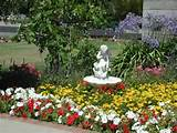 nice fountain beautiful gardens flowers ideas pinterest
