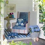 hippy chic garden summer house garden retreat idea garden