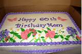 60th flower garden birthday cake - Cake by Michelle - CakesDecor