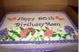 60th flower garden birthday cake cake by michelle cakesdecor