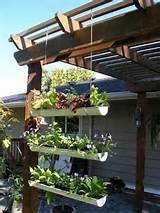 planters planting pinterest gutter garden gardens and gardening