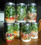 great mason jar salad ideas health treats pinterest